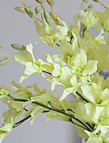 5 Филиал Шелк Букеты на стол Искусственные Цветы