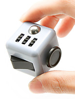 Gray Fidget Cube Finger Hand Top Magic Squeeze Puzzle Cube Work Class Home EDC ADD ADHD Anti Anxiety Stress Reliever 1Pc