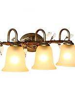3 E26 E27 Простой LED Модерн Ретро Живопись Особенность for Светодиодная лампа,Рассеянный настенный светильник