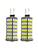 4W Luces LED de Doble Pin 120 SMD 2835 320 lm Blanco Cálido Blanco DC 12 V G4