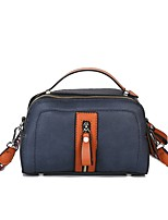 Women Bags All Seasons PU Shoulder Bag with for Event/Party Casual Formal Outdoor Office & Career Blue Black Red Brown