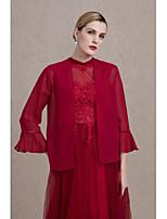 Women's Wrap Coats/Jackets Sequin Chiffon Wedding Party/ Evening Sequins