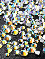 720 Manucure Dé oration strass Perles Maquillage cosmétique Nail Art Design