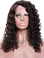 Women Human Hair Lace Wig 180% 150% Density With Baby Hair Curly Wigs Brazilian Hair Dark Brown Black Long For Black Women Natural