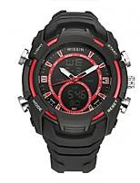Per uomo Orologio sportivo Orologio da polso Orologio casual Orologio digitale Svizzero Digitale LED Cronografo Due fusi orari Cronometro