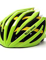 West biking Муж. Жен. Велоспорт шлем 24 Вентиляционные клапаны Велоспорт Велосипедный спорт Восхождение L: 59-63 см ESP+PC