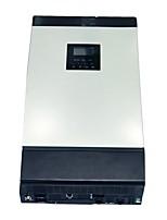 5kva чистый синусоидальный гибридный солнечный инвертор встроенный 48vdc 60a pwm солнечный контроллер заряда для домашнего использования