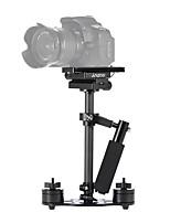 andoer staffa base adattatore per montaggio a scarpa fredda con 1/4 vite di montaggio per dslr microfono leggero a gabbia per fotocamera