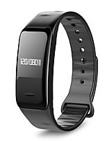 pulseira / smartwatch pulsação cardíaca pressão sanguínea monitoramento mensagem lembretes pedômetro pulseiras impermeáveis para ios