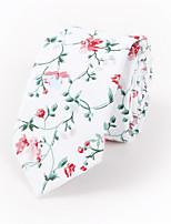 Men's Rayon Cotton Blend Neck Tie,Neckwear Print All Seasons