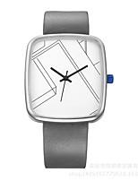 Муж. Жен. Спортивные часы Наручные часы Уникальный творческий часы Повседневные часы Китайский Кварцевый Защита от влаги Кожа Натуральная
