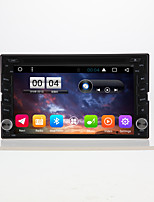 6.2 geral 2 din capacitivo touch lcd dvd player dvd android 6.0
