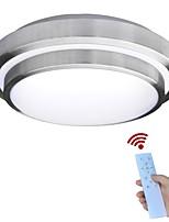 jiawen llevó las luces de techo cambiar la temperatura de color lámpara de techo 40w inteligente remoto de control dimmable dormitorio