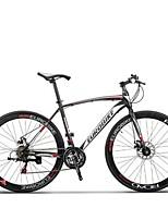 Cruiser велосипедов Велоспорт 21 Скорость 26 дюймы/700CC SHIMANO TX30 Дисковый тормоз Без амортизации Противозаносный Aluminum Alloy