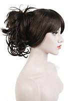 гибкие смешанные крошечные косы плетеные прямые волосы claw клип конский хвост парик парик косплей