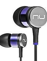 NE-730M In Ear Wired Headphones Dynamic Aluminum Alloy Pro Audio Earphone Noise-isolating with Microphone with Volume Control HIFI Headset