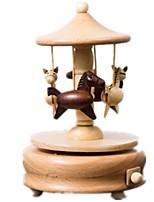Music Box Toys Horse Carousel Unisex Pieces
