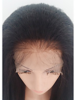 Women Human Hair Lace Wig Glue Lace Front Glueless Lace Front Lace Front 130% Density With Baby Hair Kinky Straight Wigs Brazilian Hair