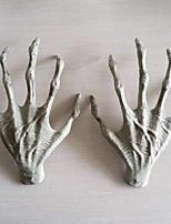 2шт Хэллоуин пластиковые скелет руки ведьмы руки преследует дом побег ужасов реквизит украшения