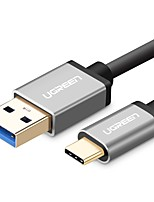 UGREEN USB 3.0 Connect Cable, USB 3.0 to USB 2.0 Type C Connect Cable Male - Male 0.5m(1.5Ft) 5.0 Gbps