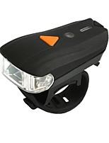 Велосипедные фары Подсветка Передняя фара для велосипеда огни безопасности LED LED Велоспорт Портативные Регулируется Быстросъемный