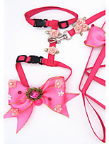 Harness Leash Portable Breathable Safety Flower/Floral Fabric