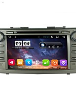 2 din capacitive touch lcd voiture dvd player android 6.0 pour toyota camry 2007-2011