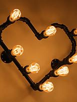 conducto nórdico romántico lámpara lámpara de pared lámpara de pared luz corazón amor corazón personalidad prop hierro forjado corazones