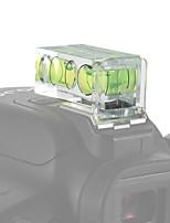 andoer 2-pack 2 ejes dimensión doble cámara espíritu burbuja nivel equilibrio tiro caliente montaje para canon nikon panosónico olympus