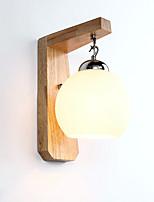 3 E27 Простой LED Модерн Деревенский Особенность for Мини,Рассеянный настенный светильник