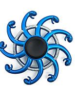 Fidget Spinner Inspirado por One Piece Boa Hancock Animé Accesorios de Cosplay Cromado
