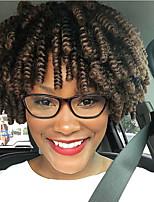 Afro Kinky Tresses Tresse Natté JheriCurl Boucle Toni Tresses au Crochet Bouclé Bouncy Curl Afro Crochet Tricots aux cheveux humains 100%