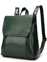 Women Bags All Seasons PU Shoulder Bag with Rivet for Office & Career Outdoor Blue Black Military Green Brown Wine