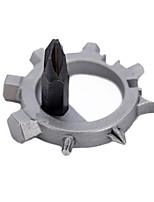 Outras Ferramentas Ferramentas de Reparação Ciclismo Moto Chave de fenda Kit de reparo Portátil Aço Inoxidável-1
