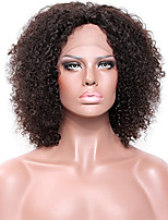 Women Human Hair Lace Wigs Glueless Full Lace Full Lace Wigs 180% 150% 130% Density With Baby Hair Kinky Curly Wigs Brazilian Hair Medium