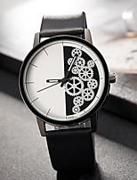 Жен. Модные часы Наручные часы Уникальный творческий часы Повседневные часы Кварцевый PU Группа С подвесками Люкс Элегантные часы Cool