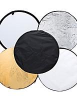 andoer 43 110 см диск 5 в 1 (золотой серебристый белый черный полупрозрачный) мульти-портативный складной фотостудия фотосъемка