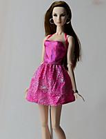 Vestidos Vestido por Muñeca Barbie  Vestidos por Chica de muñeca de juguete