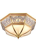 lâmpada de lâmpada retro - lâmpada de quarto - lâmpada de quarto retro americana - lâmpada de cobre européia com lâmpada de cobre européia