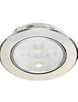 1Pc 6W Recessed LED Spot Light Celing Light Warm White/White AC220V Size Hole 95mm