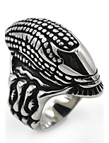 Men's Women's Band Rings Statement Jewelry Stainless Steel Tube Jewelry For Stage