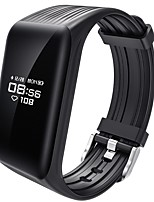 YY K1 Smart Bracelet Water Resistant / Calories Burned Pedometers Exercise Record Sports Heart Rate Monitor Touch for Ids Android