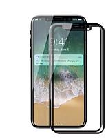 Vidrio Templado Protector de pantalla para Apple iPhone X Protector de Pantalla Frontal Dureza 9H Anti-Huellas