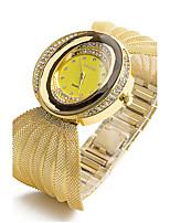 Жен. Детские Модные часы Часы-браслет Имитационная Четырехугольник Часы Китайский Кварцевый Имитация Алмазный сплав Группа Блестящие