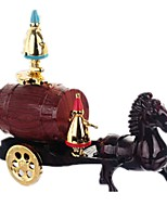Music Box Holiday Decorations Toys Carriage Horse Furnishing Articles Unisex Pieces