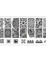 clavo que estampa Las placas plantilla de la imagen Rascadora de sellos