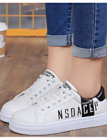 Women's Shoes PU Spring Fall Comfort Sneakers For Casual Blushing Pink Black Gold
