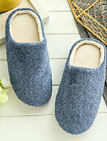 Women's Slippers & Flip-Flops Comfort Summer Velvet Casual Blue Red Black Flat