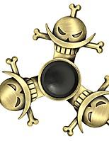 Fidget Spinner Inspirado por One Piece Edward Newgate Animé Accesorios de Cosplay Cromado