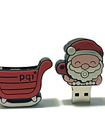 1gb christmas usb flash drive cartoon criativo santa claus presente de natal usb 2.0
